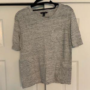Banana Republic Gray T Shirt